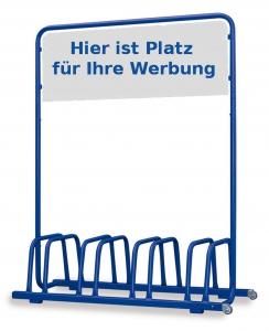 Magenta Euro Windkat 4er Fahrradst/änder mit Werbeschild